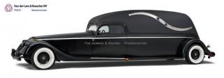 Hotrod Rouwauto Style Chevrolet