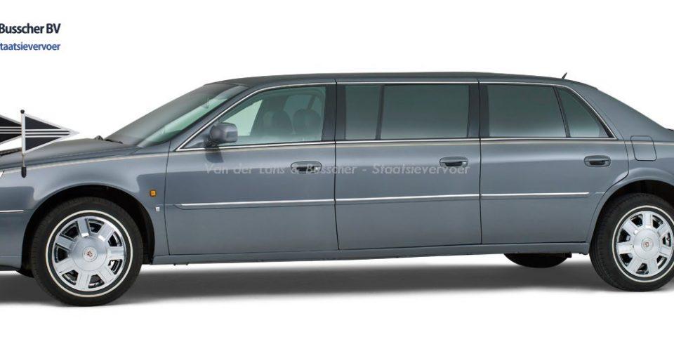 Cadillac grijs – 7 Persoons Volgauto