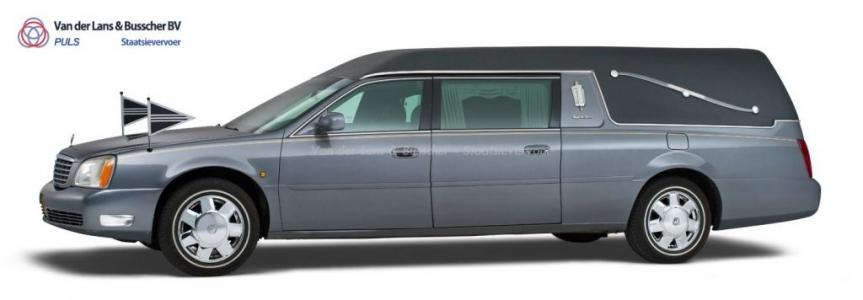 Cadillac grijs - Landaulet Rouwauto