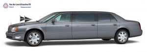 Cadillac grijs - 7 Persoons Volgauto