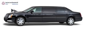 Cadillac zwart - 7 Persoons Volgauto