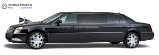 Cadillac zwart – 7 Persoons Volgauto