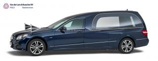 Mercedes blauw - Glas Rouwauto