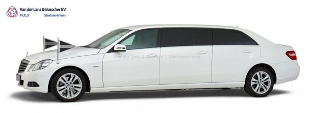 Mercedes grijs - 7 Persoons Volgauto