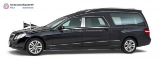 Mercedes zwart - Glas Rouwauto