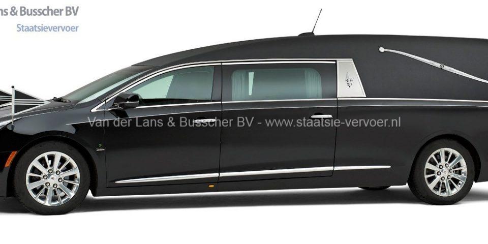 Cadillac zwart – Landaulet Rouwauto