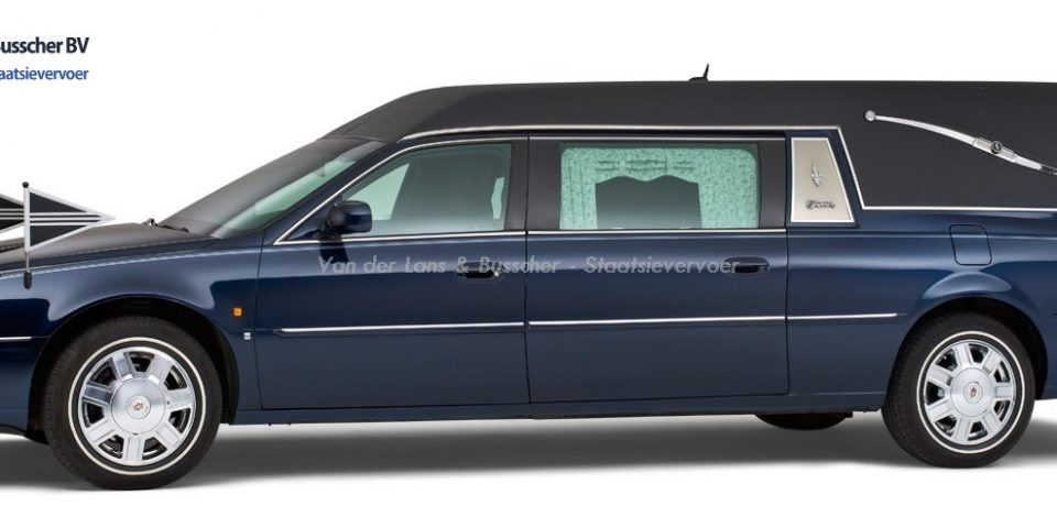 Cadillac blauw – Landaulet Rouwauto