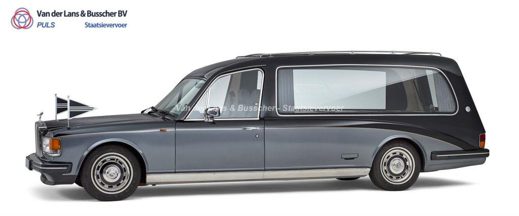 Silver Spirit Rolls Royce Rouwauto