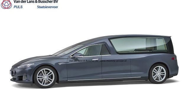 Speciale IGL-glascoating op Tesla Rouwauto
