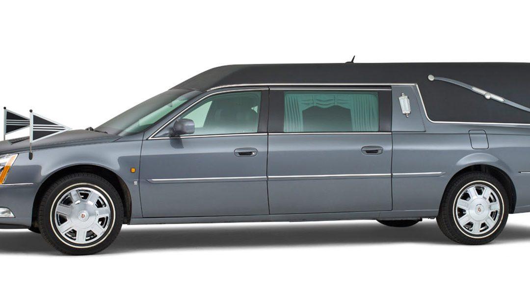Cadillac grijs – Landaulet Rouwauto
