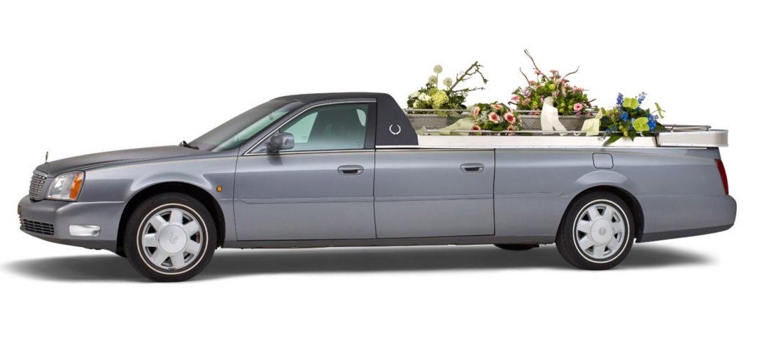 Cadillac-Open-bloemenauto