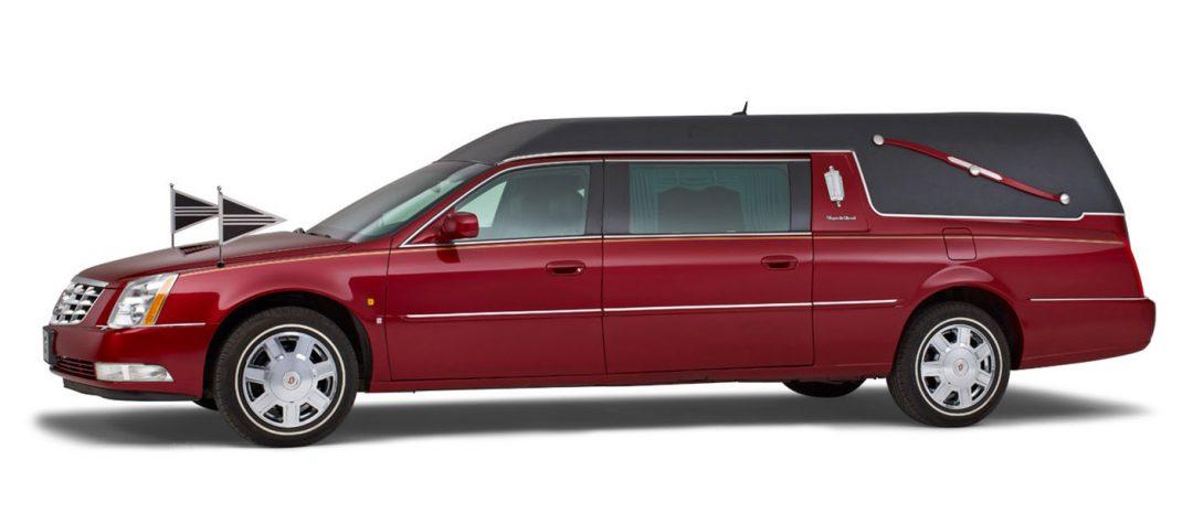 Cadillac-rood-Landaulet-rouwauto