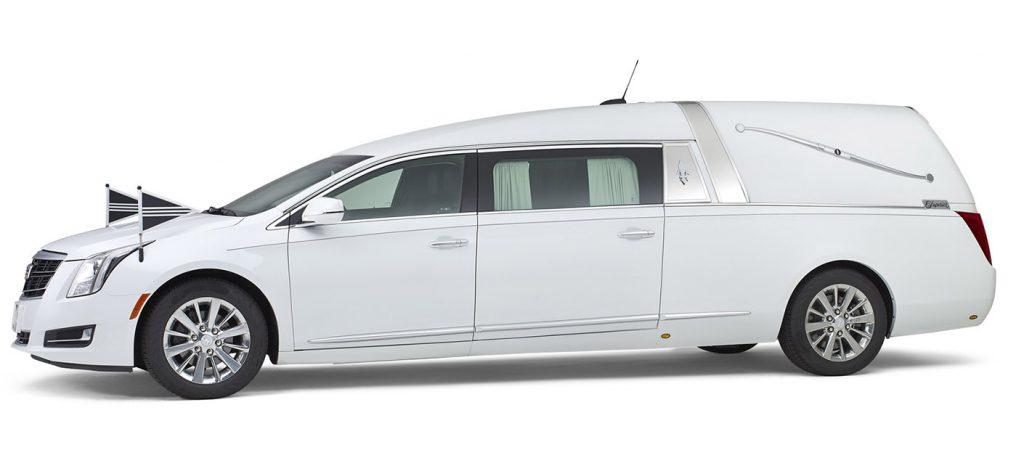 Cadillac-wit-Landaulet-rouwauto