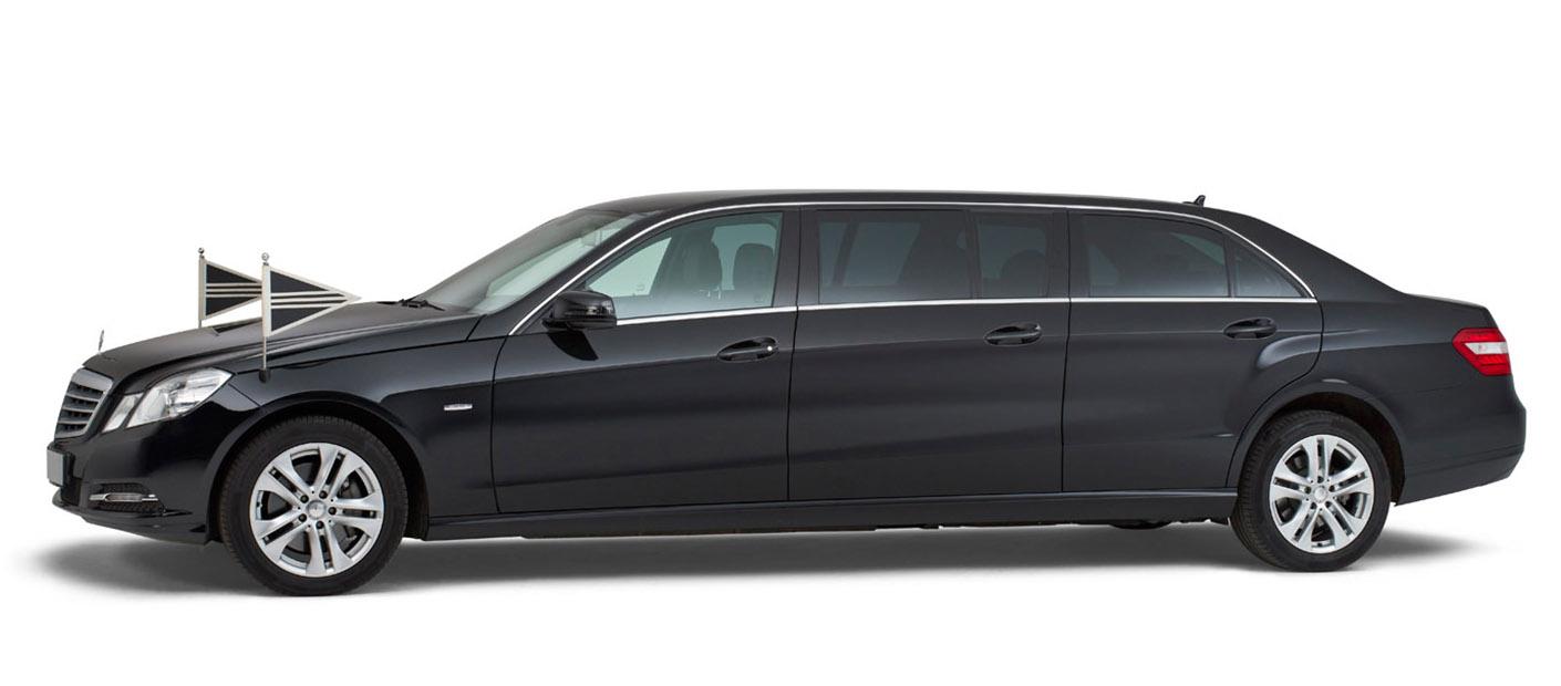 Mercedes zwart – 7 Persoons Volgauto