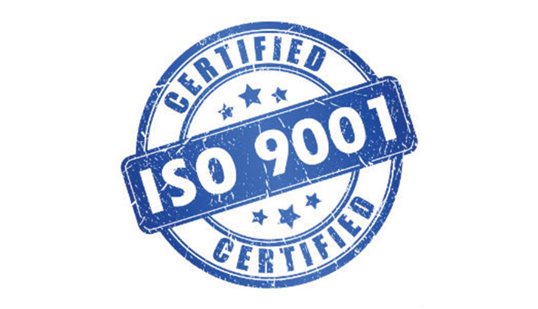 Opnieuw ISO 9001 Certificaat behaald!