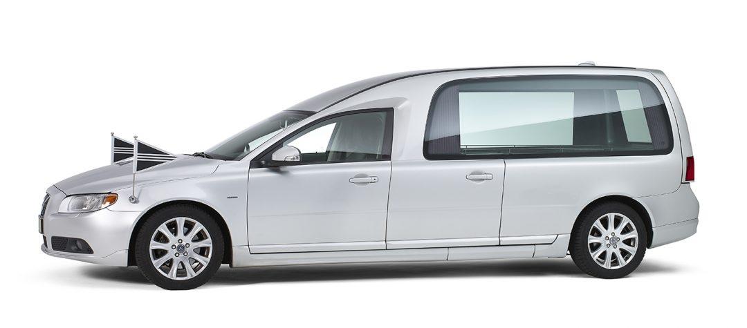 Volvo-grijs-glas-rouwauto