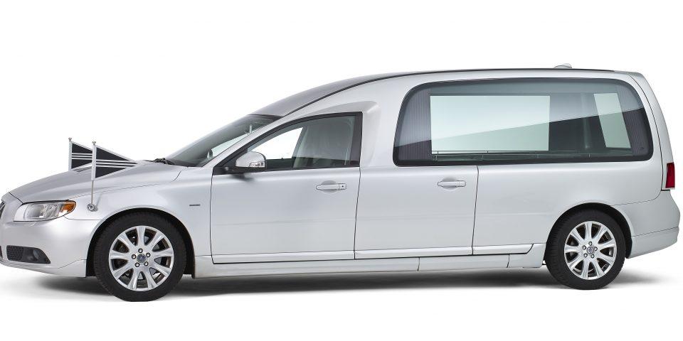 Volvo Rouwauto Glas Grijs