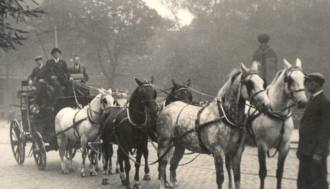 Geschiedenis-Staatsievervoer